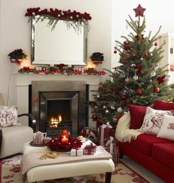 Decoración de Navidad para espacios pequeños