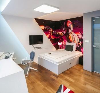 Decoración de dormitorio inspirado en Star Wars