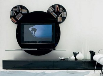 Decoracion con inspiracion Mickey Mouse