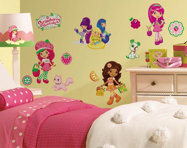 Decoracion de dormitorios con frutillita 3