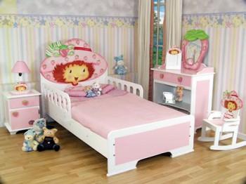 Decoracion de dormitorios con frutillita