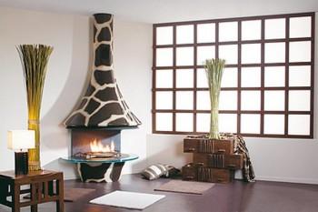 Decoracion de interiores con jirafas 4