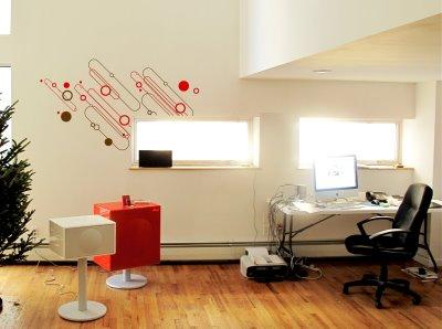 Decoraci n navide a sutil para oficinas modernas for Imagenes de oficinas decoradas