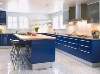 El color blanco y el azul en la decoración