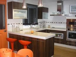 El uso de las barras en la cocina