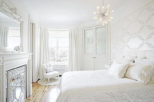 El uso del color blanco en la decoración de dormitorios modernos