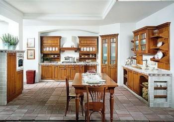 Estilo rústico ofreciendo mayor naturalidad en la cocina