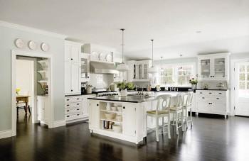 Estilo romántico en las cocinas