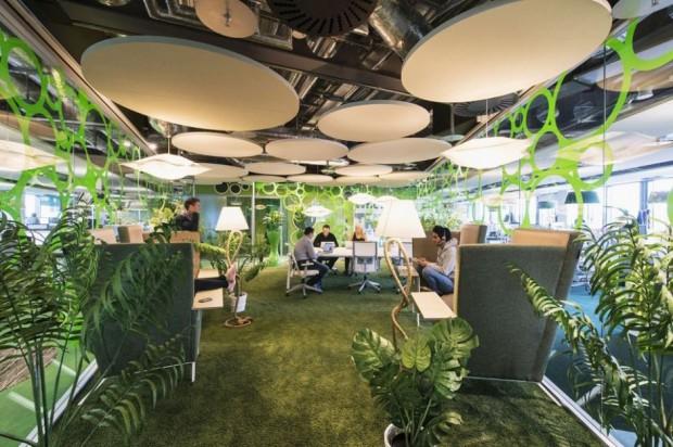 Google en Dublín green