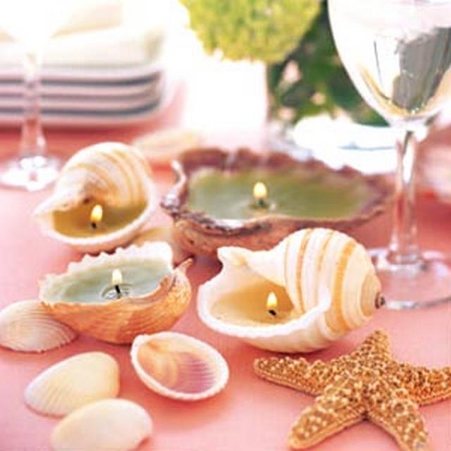 Ideas para decorar con conchas de mar 2