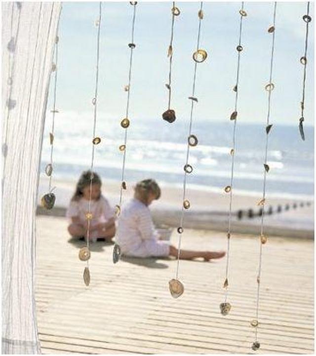 Ideas para decorar con conchas de mar 4