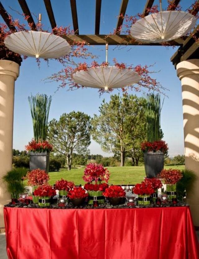 Ideas para decorar con sombrillas 2
