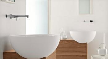 Innovaciones decorativas en el baño el uso del Gresite.