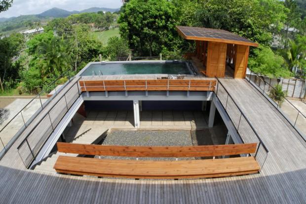 Moderna Casa Familiar en Panamá corredores