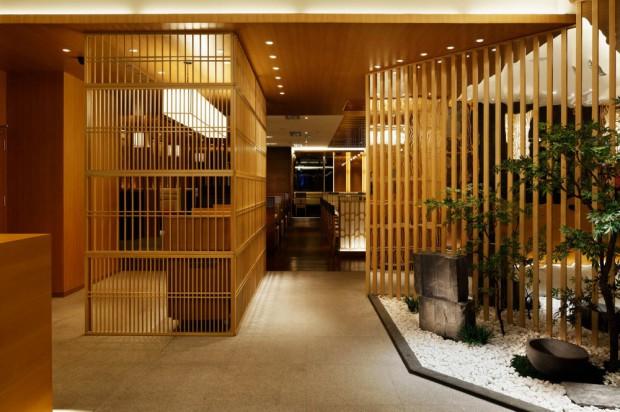 Moderno restaurante japonés en China