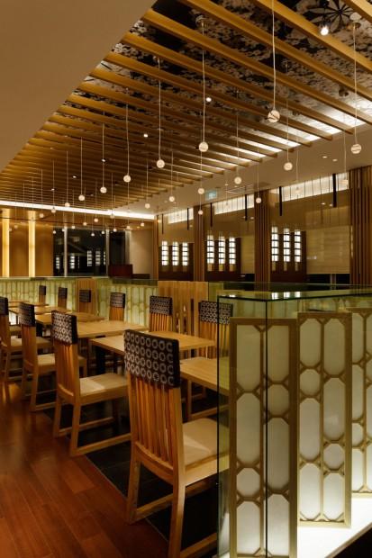 Moderno restaurante japonés en China int