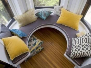 Sofa para esquinas redondeadas