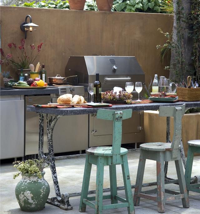 Una cocina en el exterior 1