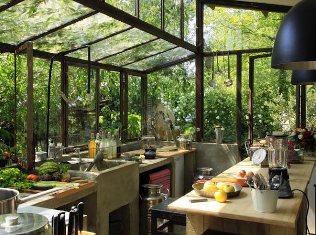 Una cocina en el exterior 4