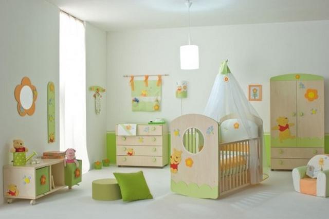 Winnie Pooh Dormitorio de bebes al estilo Winnie Pooh 1