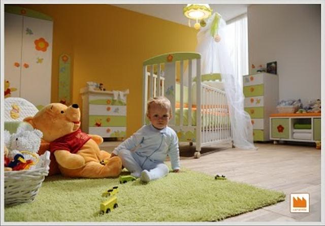 Winnie Pooh Dormitorio de bebes al estilo Winnie Pooh 3