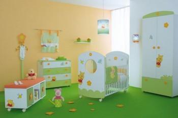 Winnie Pooh Dormitorio de bebes al estilo Winnie Pooh