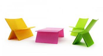 Zig Zag, muebles ecologicos para exteriores