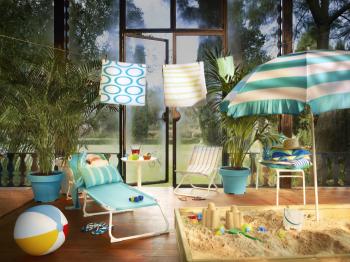 ¿Una playa en casa IKEA 2013