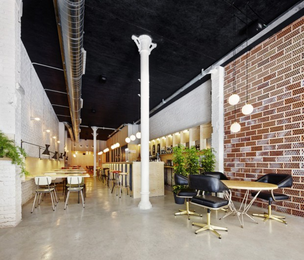 Bar Oval interiores
