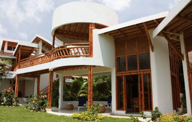 Casas de bambú 1