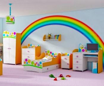 Decorar con arco iris