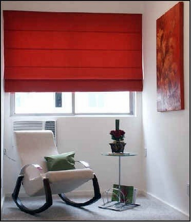 Decorar con cortinas de color rojo for Decoracion de interiores color rojo