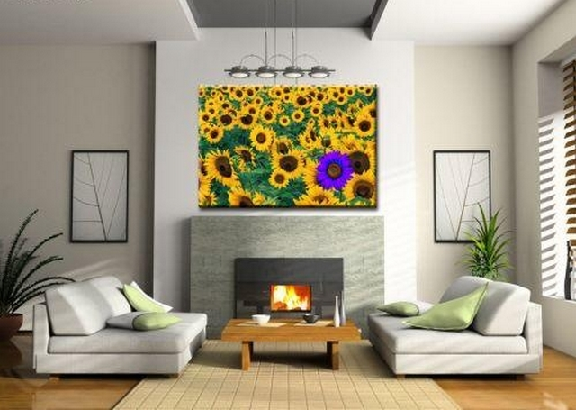 Decorar con girasoles 2