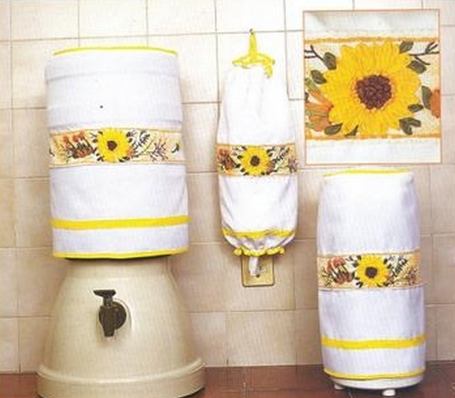 Decorar con girasoles 3