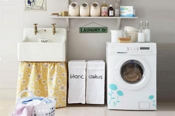 Decorar el lavadero en verano