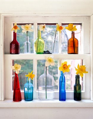 Decorar en verano con botellas
