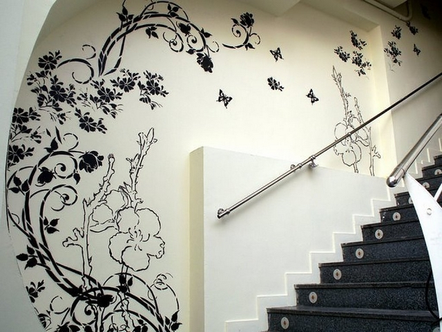 Decorar escaleras en verano 3