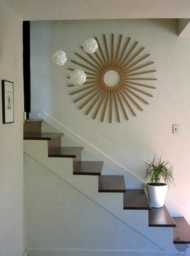 Decorar Escaleras En Verano - Decoracion-de-escaleras