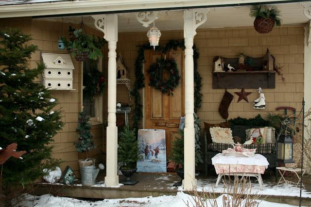 Decorar porche en Navidad 2