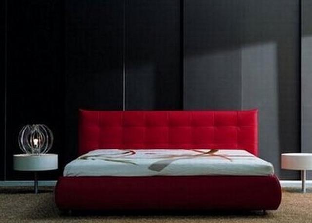 Dormitorios decorado en negro 4