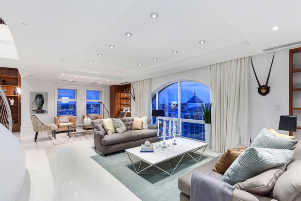 Elysium Penthouse living