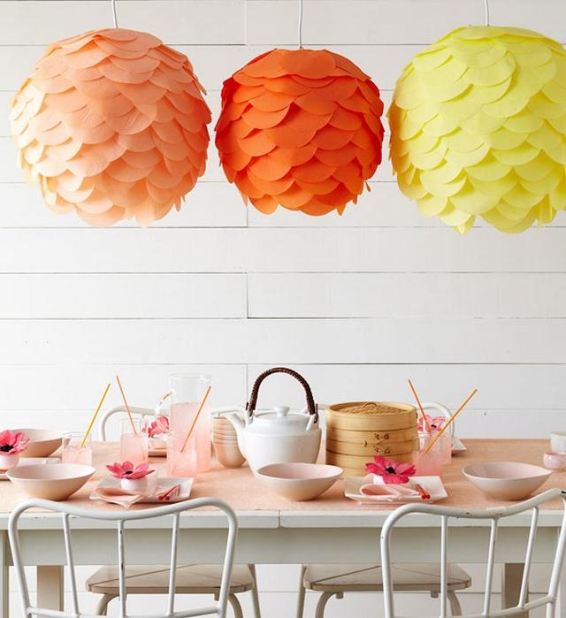 Farillos de papel para decorar en verano 3