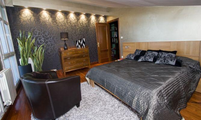 Ideas para decorar dormitorio en plateado 3