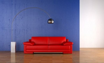 Ideas para decorar dormitorio en rojo y azul