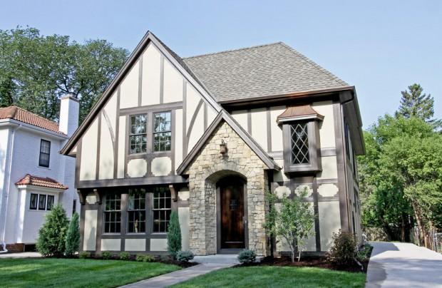 Los hogares de estilo yankee  tudor