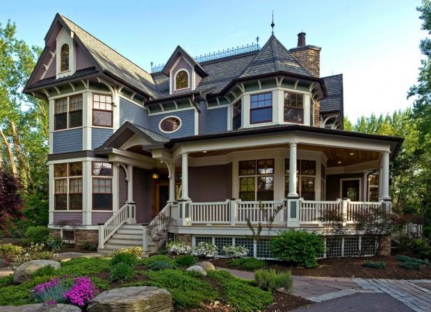 Los hogares de estilo yankee victoriano