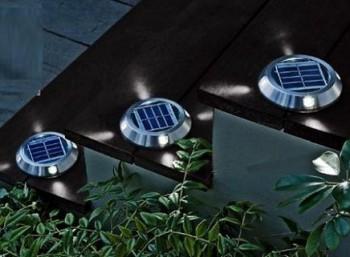 Luz LED solar 1