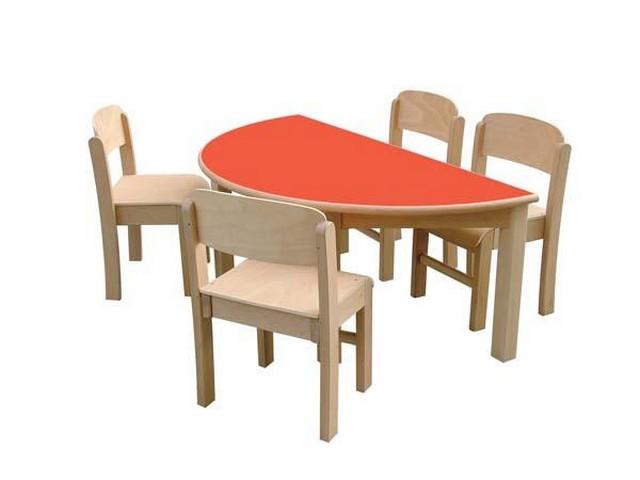 Mesa semi circulares 2