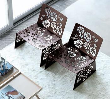 Muebles floreados