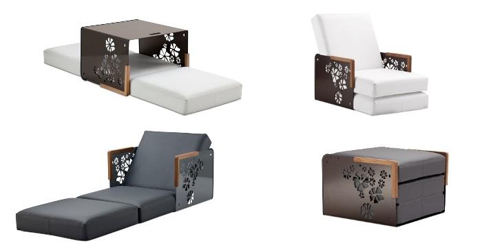Sillon Kube, un mueble moderno y practico para el jardin 2